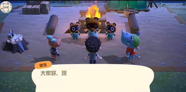 動物森友會篝火怎么點燃