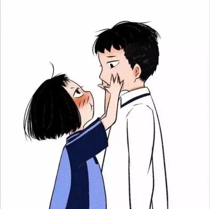 一女多男抽�_情侣头像表情包一对 情侣头像图片一男一女