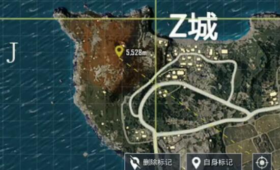 野炊音乐彩蛋视频 双排约会好去处      这是位于海岛地图z城左上角新