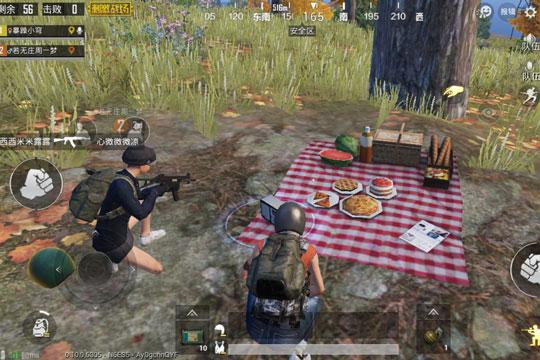 绝地海岛野餐聚点 刺激战场情侣约会的好去处