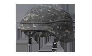 和平精英丛林迷彩军用头盔图鉴