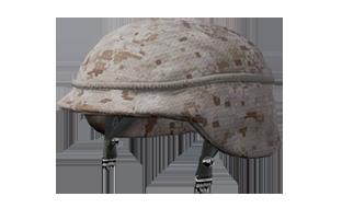 和平精英沙漠迷彩军用头盔图鉴