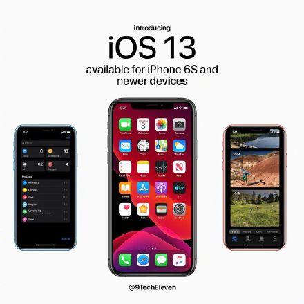 ios13 什么 时候 更新