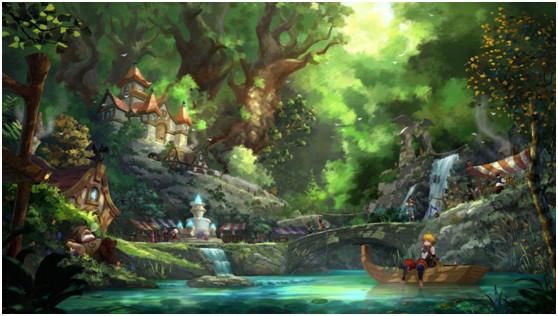 《龙之谷2手游》走光首秀,场景焕然一新颜值崭新面貌