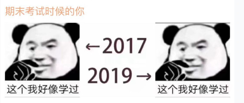 2017和2019的照片刷屏