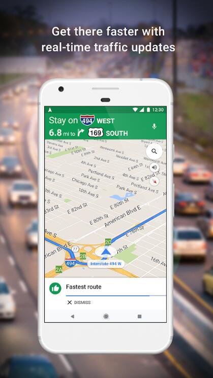 google maps中文版