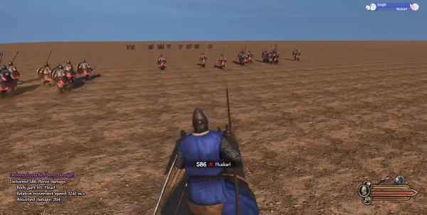 騎馬與砍殺2騎槍沖鋒要按什么鍵
